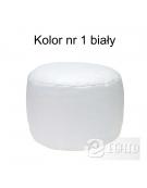 Pufa roller 35x25 biały